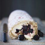 blackberry-roulade