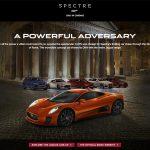 Jaguar CX-75 James Bond Spectre – images by Harniman