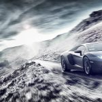 Lamborghini Aventador Wales