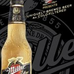 Photography by Jonathan Knowles of a bottle of chilled Miller Midnight beer