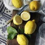 lemons-with-leaves
