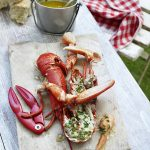 lobster-with-herb-butter