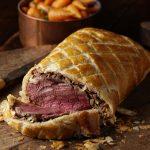 beef wellington, beef in pastry, beef, meat, food