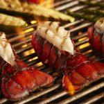 grilled-lobster-tails-vegetables