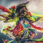 Native American Dancer photographed by Blair Bunting