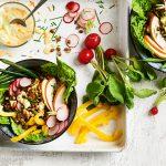 lassie-recept363-mungbonensalade-gerookte-kip-wasabi-dressing