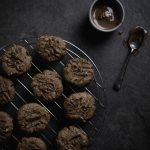 Milk Chocolate Cookies with Mixed Nuts