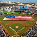 Miami Marlins Ballpark Opening Night